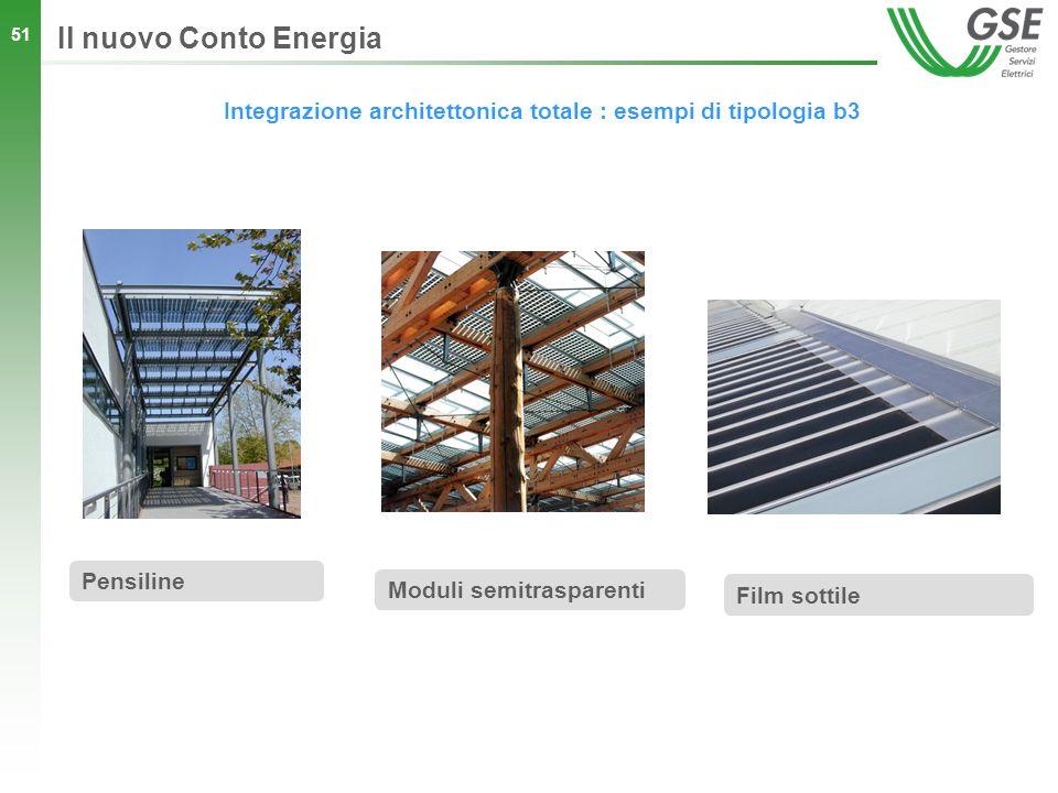 Integrazione architettonica totale : esempi di tipologia b3