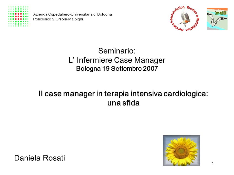 Il case manager in terapia intensiva cardiologica: una sfida