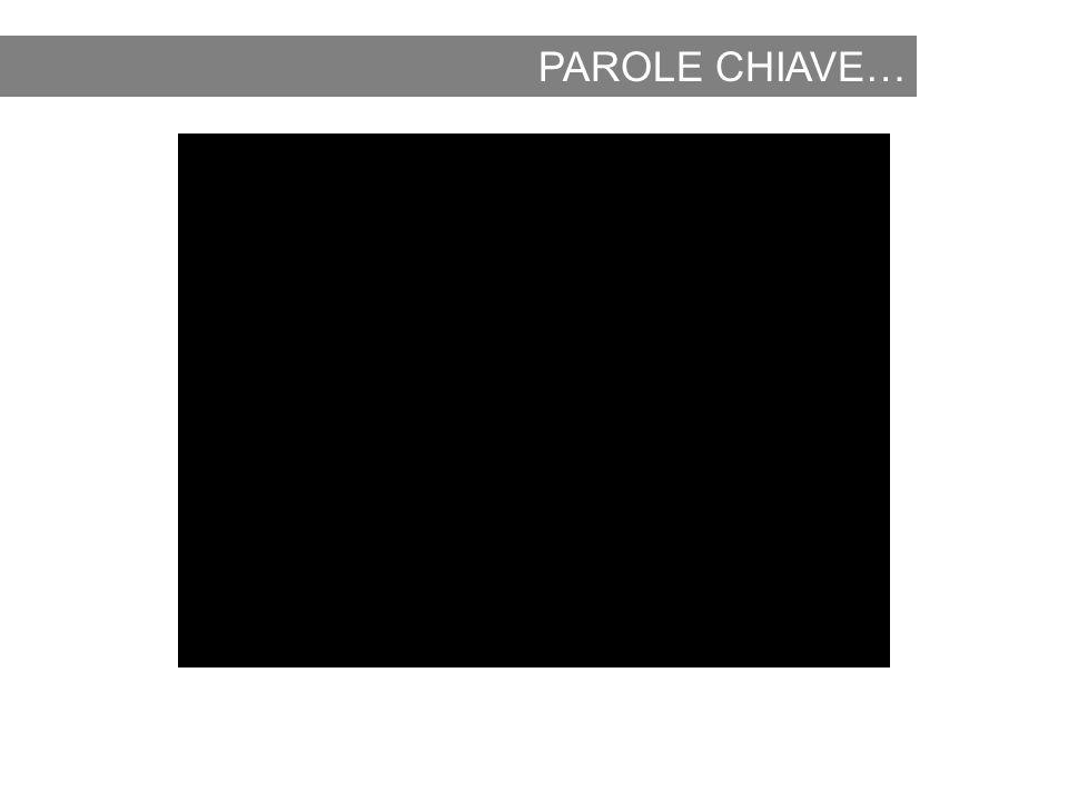 PAROLE CHIAVE…