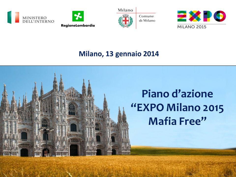 Piano d'azione EXPO Milano 2015 Mafia Free