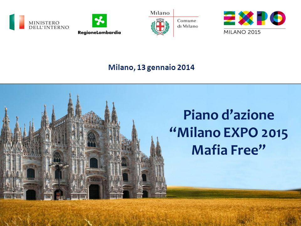 Piano d'azione Milano EXPO 2015 Mafia Free
