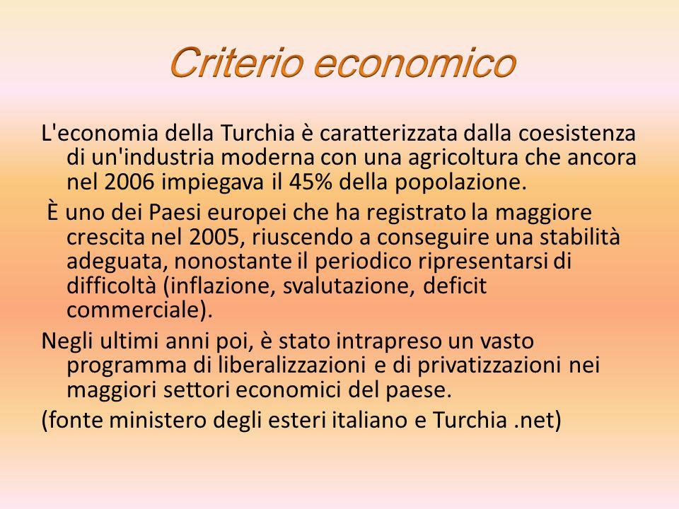 Criterio economico