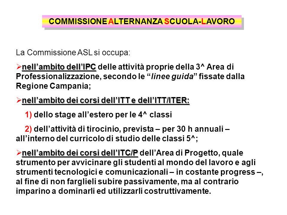 COMMISSIONE ALTERNANZA SCUOLA-LAVORO