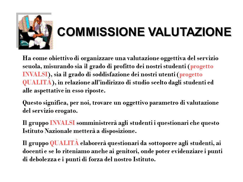 COMMISSIONE VALUTAZIONE