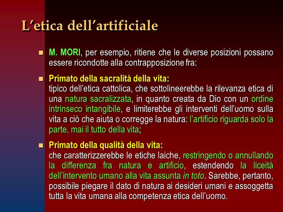 L'etica dell'artificiale