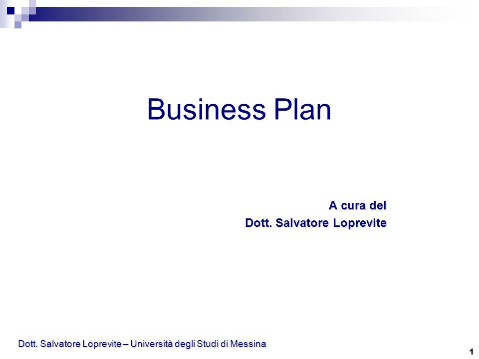 Dott. Salvatore Loprevite – Università degli Studi di Messina