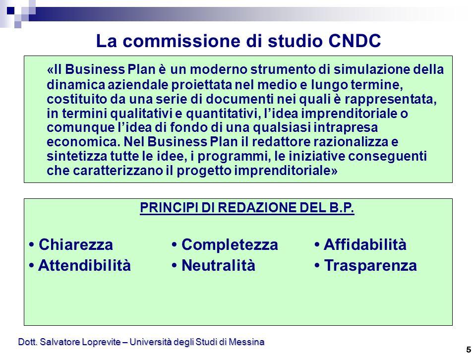 La commissione di studio CNDC