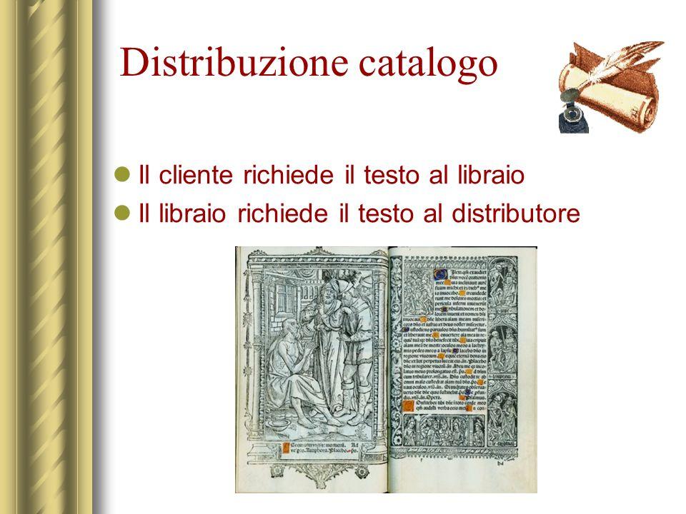 Distribuzione catalogo