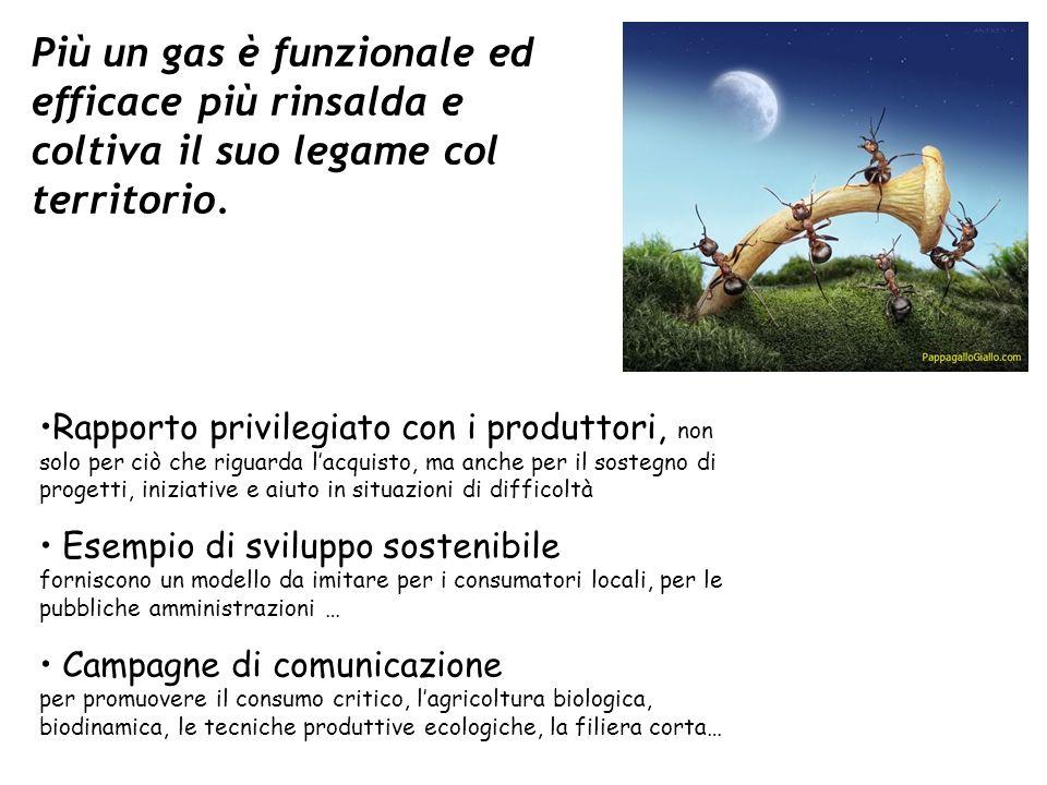 Più un gas è funzionale ed efficace più rinsalda e coltiva il suo legame col territorio.