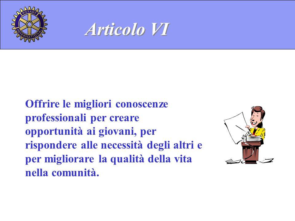 Articolo VI