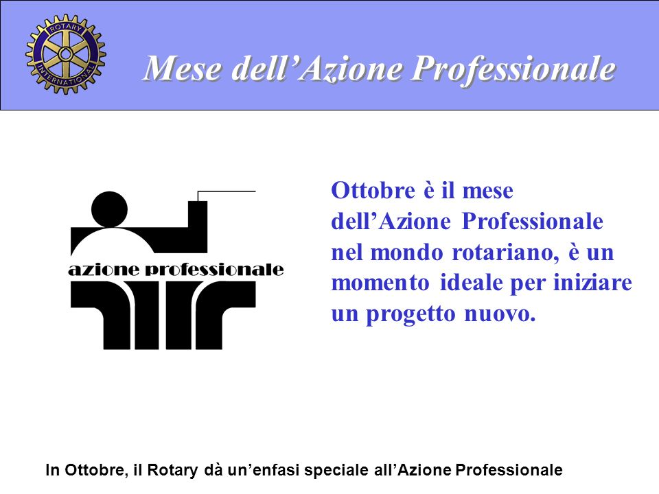 Mese dell'Azione Professionale