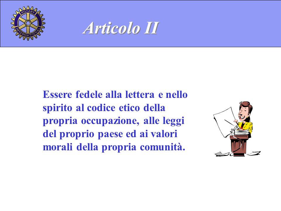Articolo II