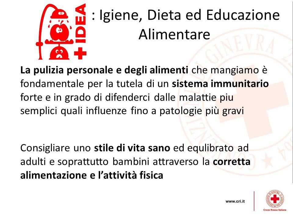 : Igiene, Dieta ed Educazione Alimentare