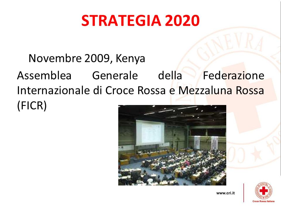 STRATEGIA 2020 Novembre 2009, Kenya