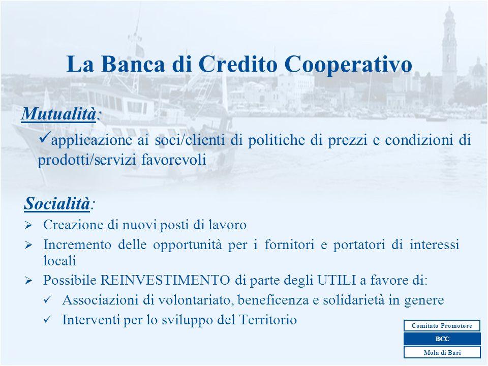 La Banca di Credito Cooperativo