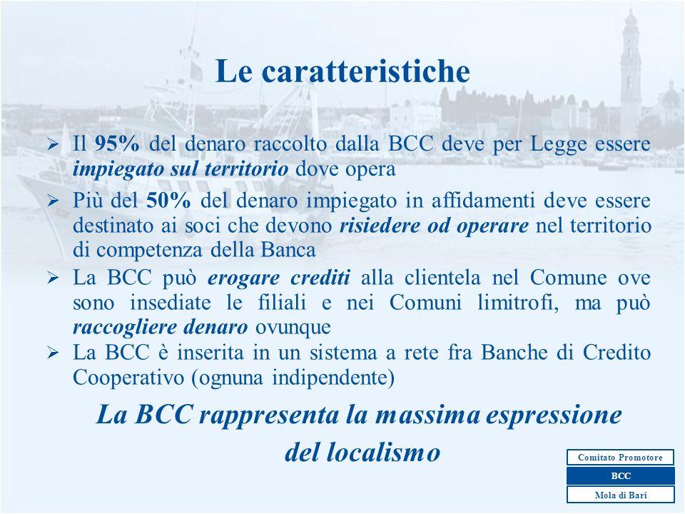 La BCC rappresenta la massima espressione