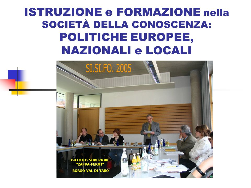 Istituto superiore zappa fermi ppt video online scaricare for Istituto superiore