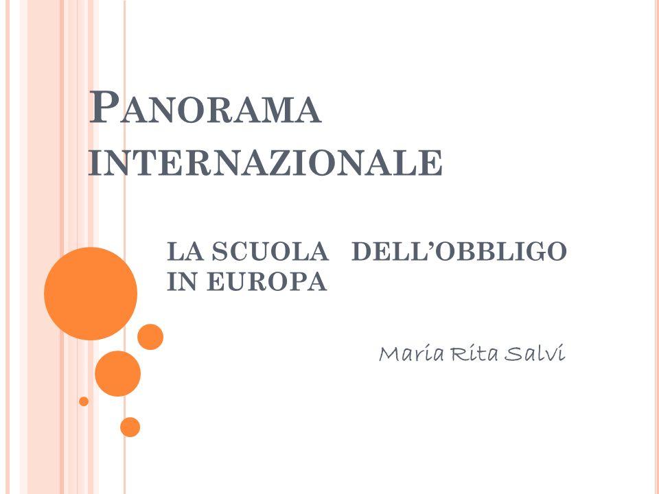 Panorama internazionale