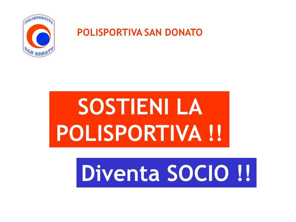 SOSTIENI LA POLISPORTIVA !!