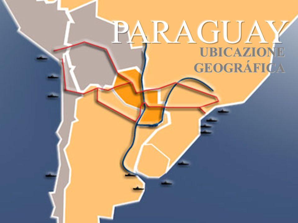 PARAGUAY UBICAZIONE GEOGRÁFICA