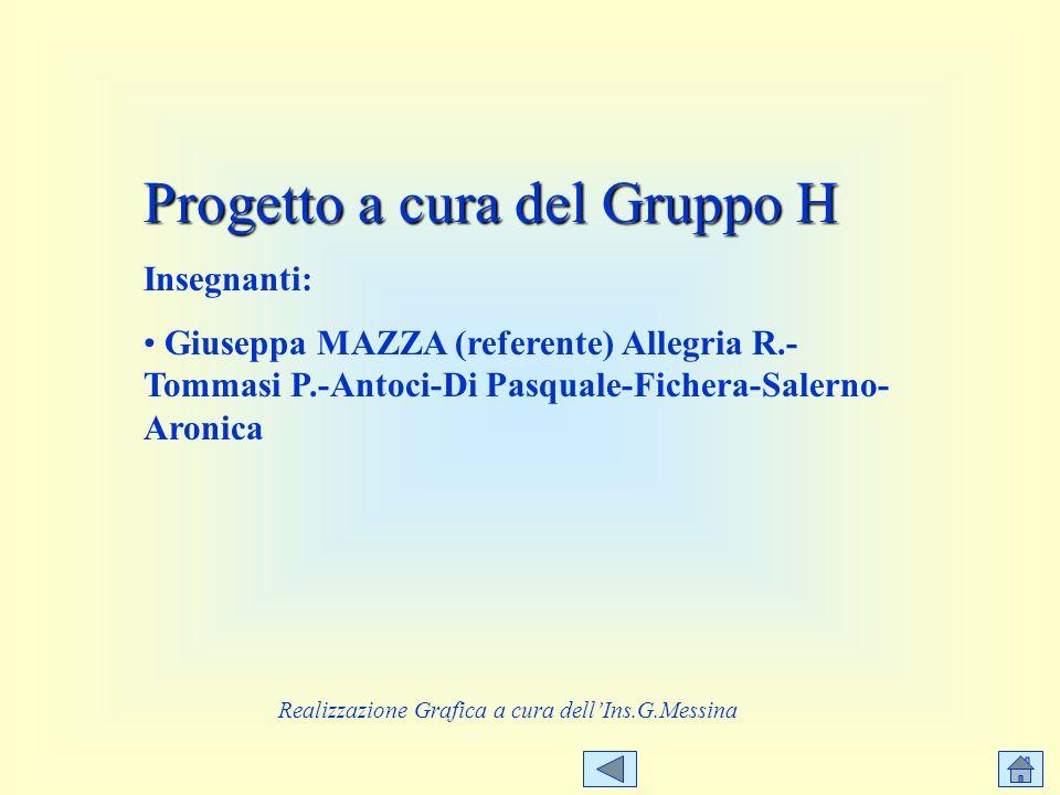 Realizzazione Grafica a cura dell'Ins.G.Messina