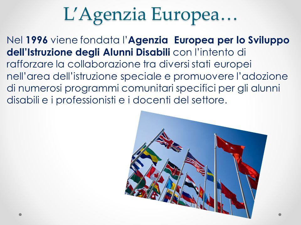 L'Agenzia Europea…