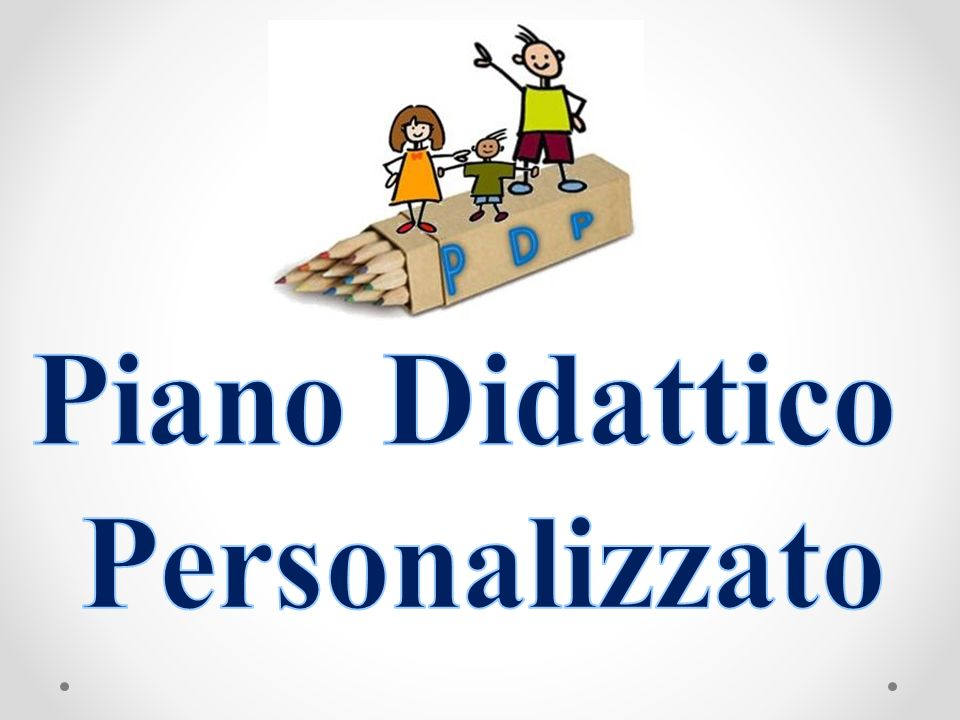 Piano Didattico Personalizzato