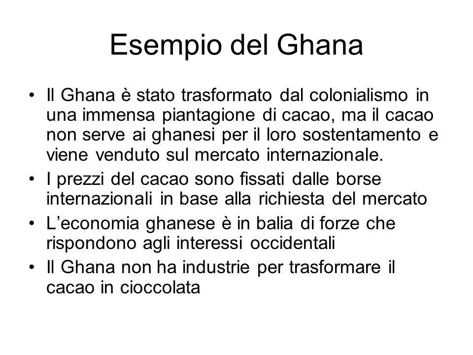 Esempio del Ghana