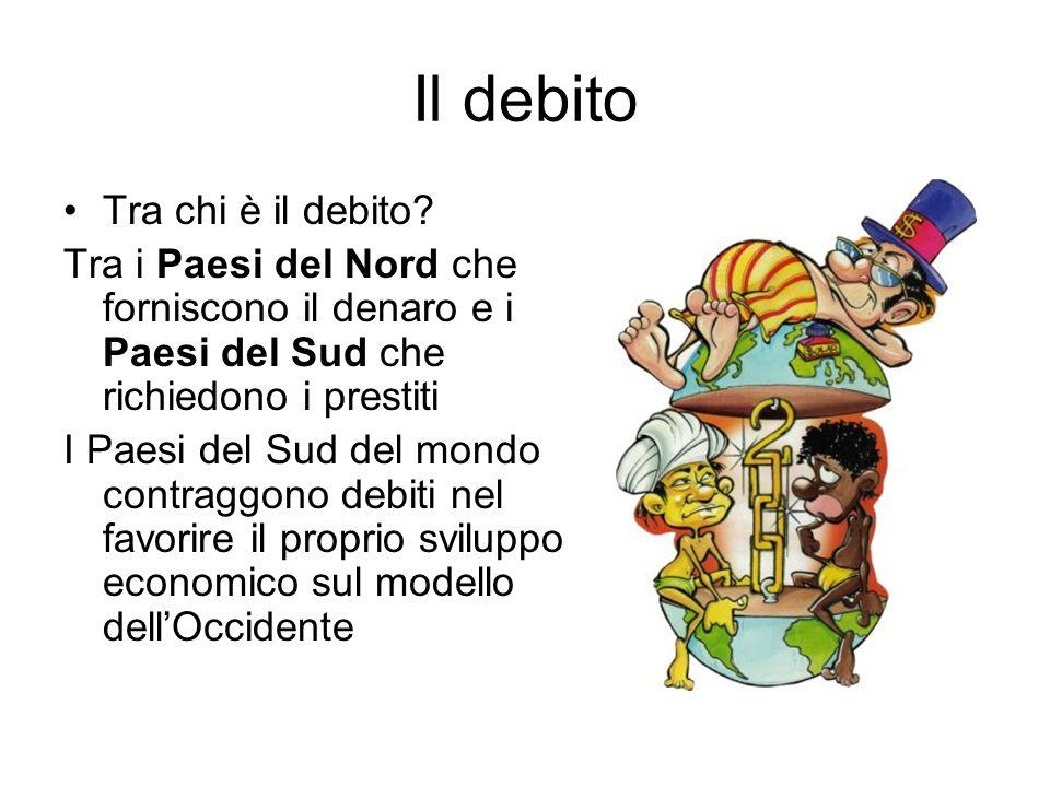 Il debito Tra chi è il debito