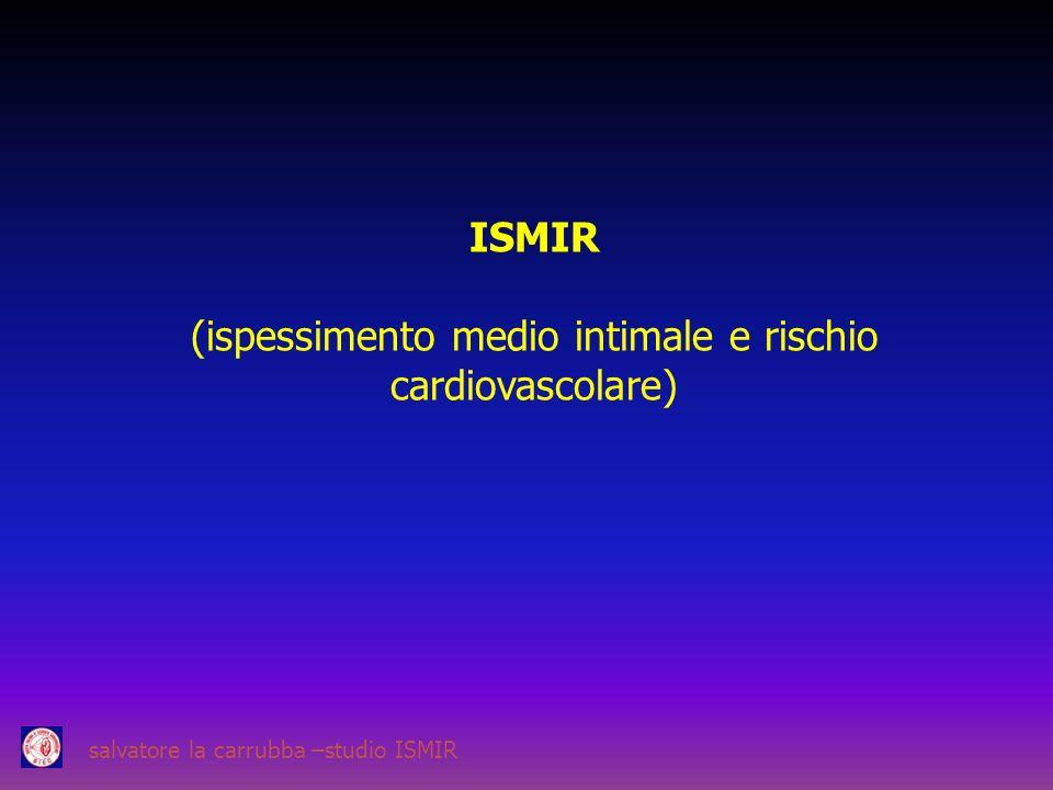 (ispessimento medio intimale e rischio cardiovascolare)