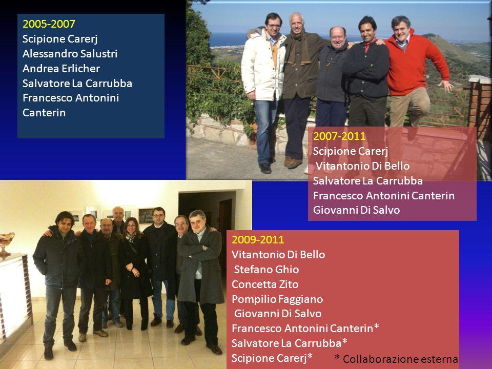 2005-2007 Scipione Carerj Alessandro Salustri Andrea Erlicher