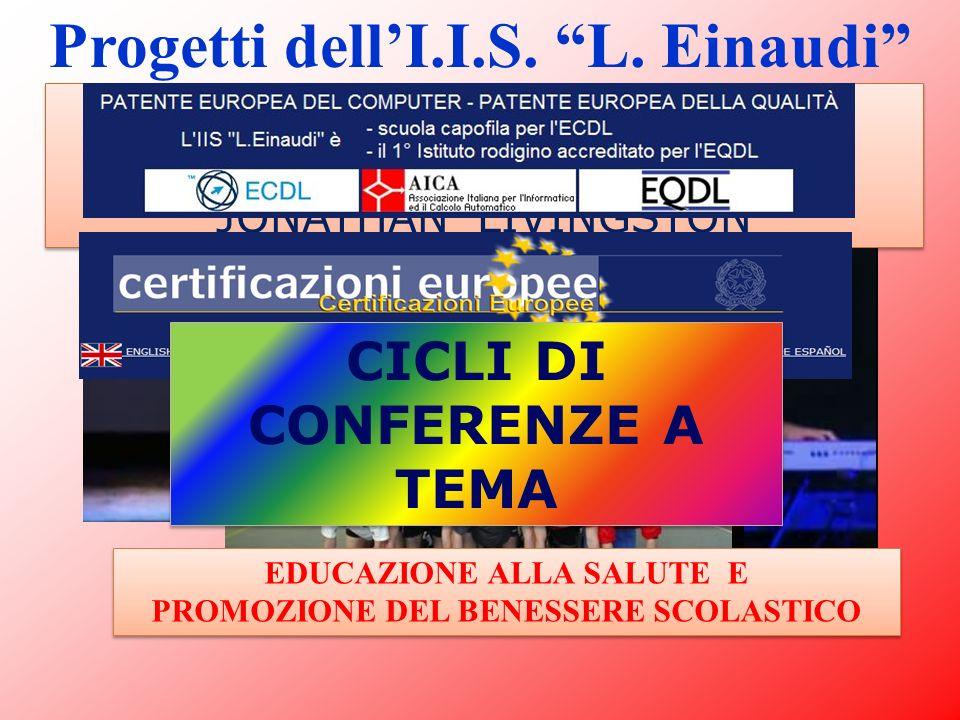 Progetti dell'I.I.S. L. Einaudi