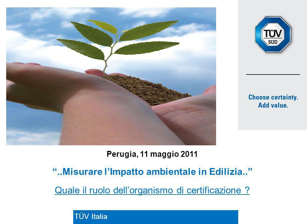 ..Misurare l'Impatto ambientale in Edilizia..