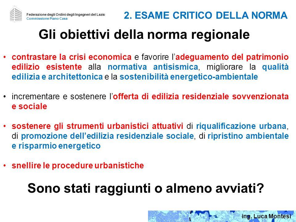 2. ESAME CRITICO DELLA NORMA