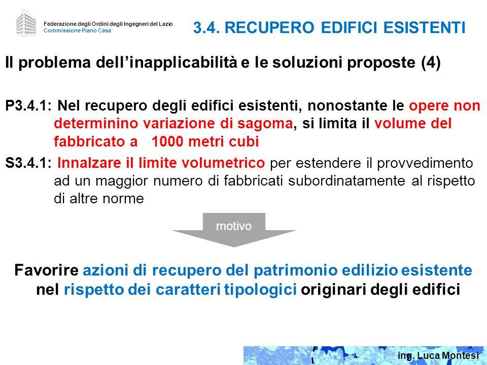 3.4. RECUPERO EDIFICI ESISTENTI