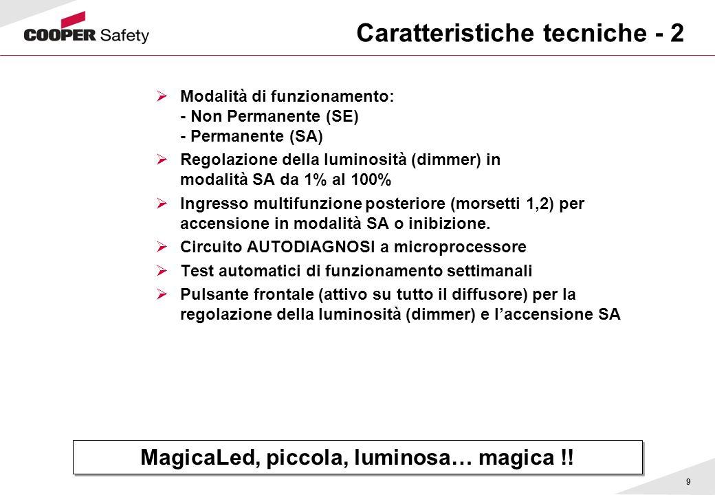 Caratteristiche tecniche - 2