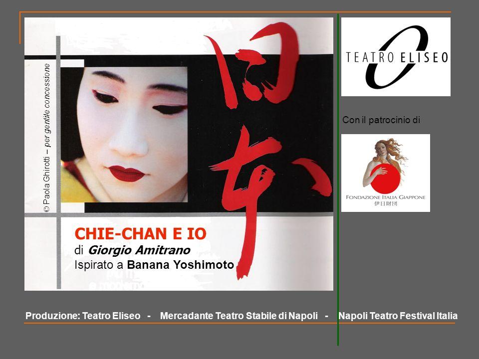CHIE-CHAN E IO di Giorgio Amitrano Ispirato a Banana Yoshimoto