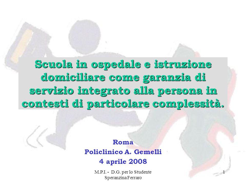 Roma Policlinico A. Gemelli 4 aprile 2008