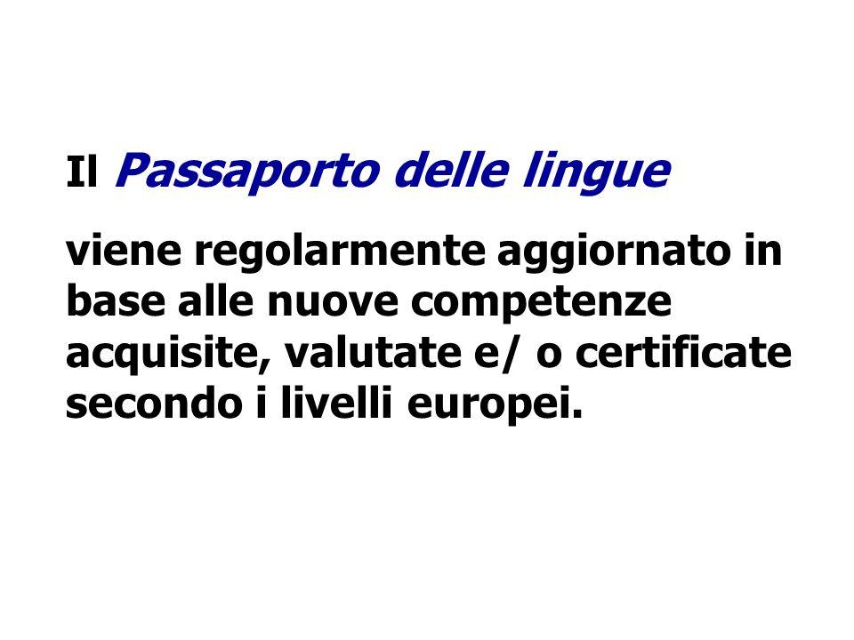 Il Passaporto delle lingue