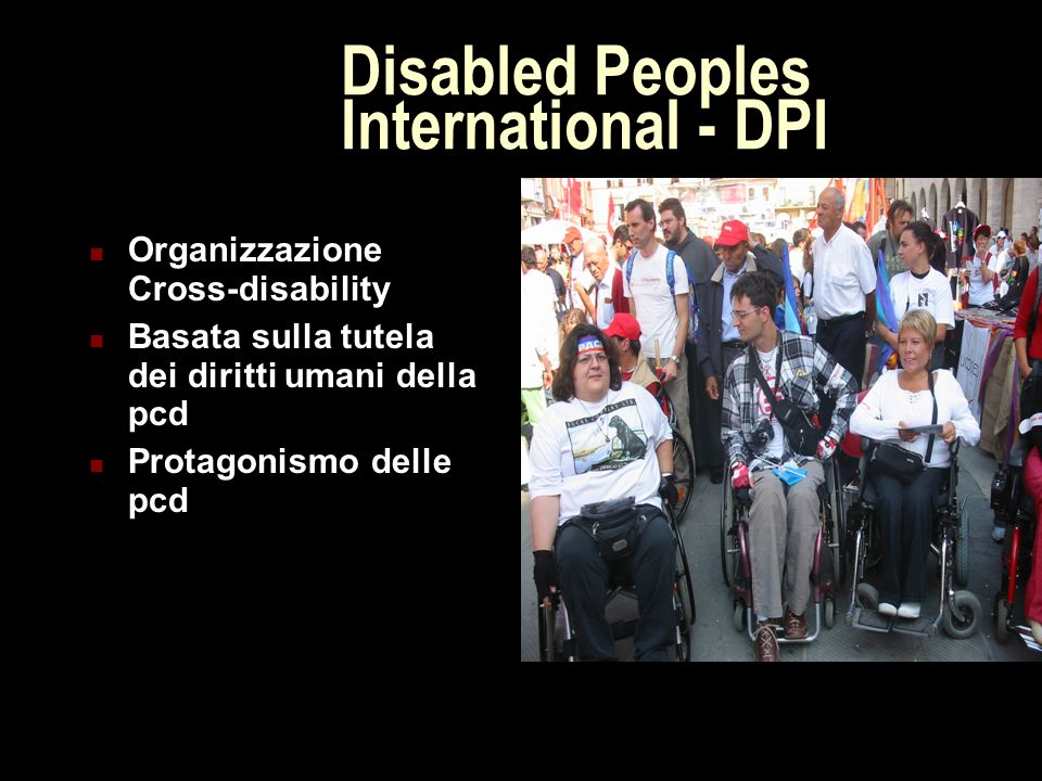 Disabled Peoples International - DPI