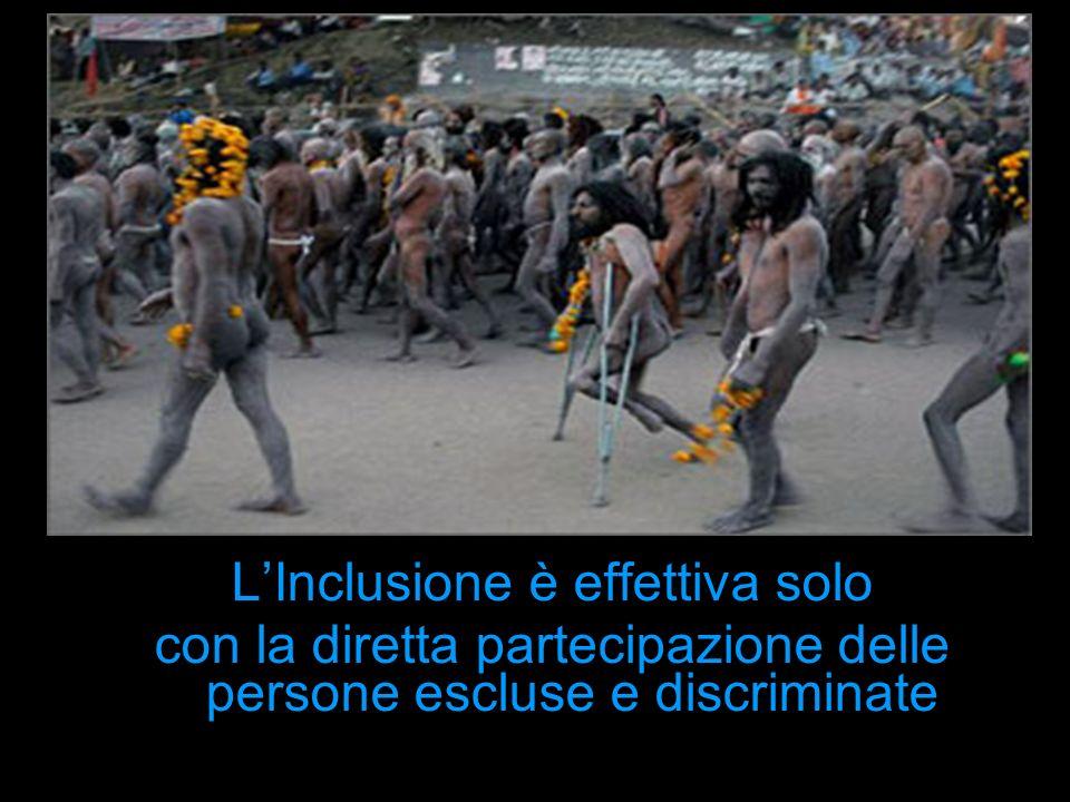 L'Inclusione è effettiva solo