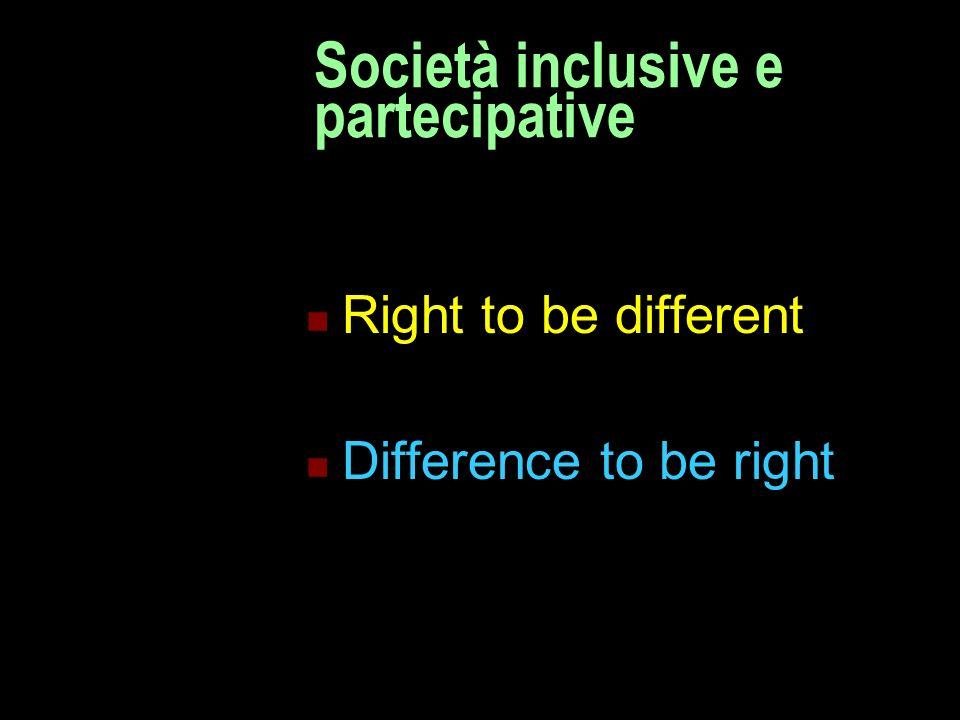 Società inclusive e partecipative