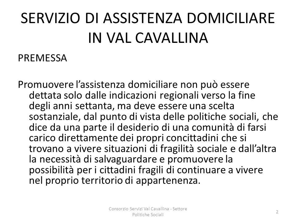 SERVIZIO DI ASSISTENZA DOMICILIARE IN VAL CAVALLINA