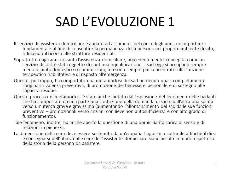 Consorzio Servizi Val Cavallina - Settore Politiche Sociali