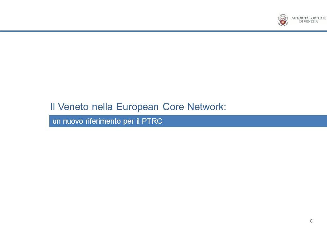 Il Veneto nella European Core Network: