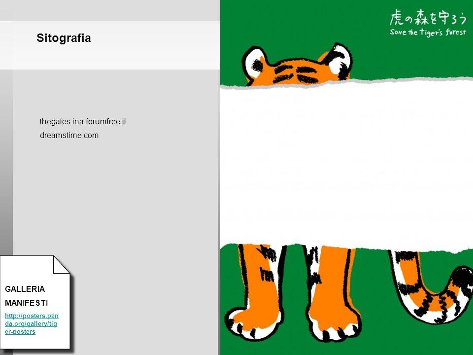 Sitografia thegates.ina.forumfree.it dreamstime.com GALLERIA MANIFESTI