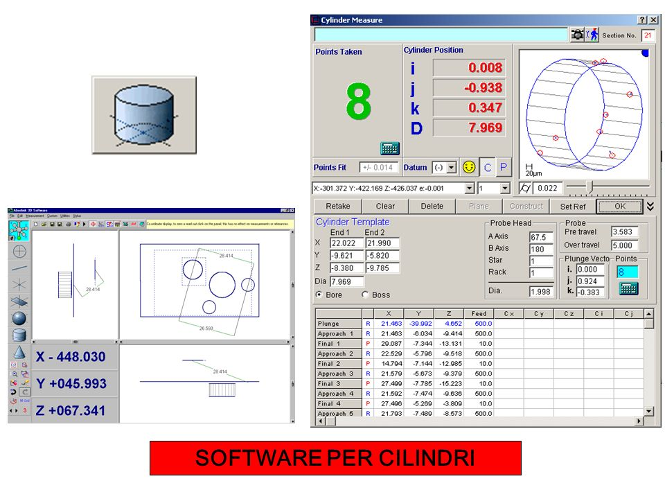 SOFTWARE PER CILINDRI
