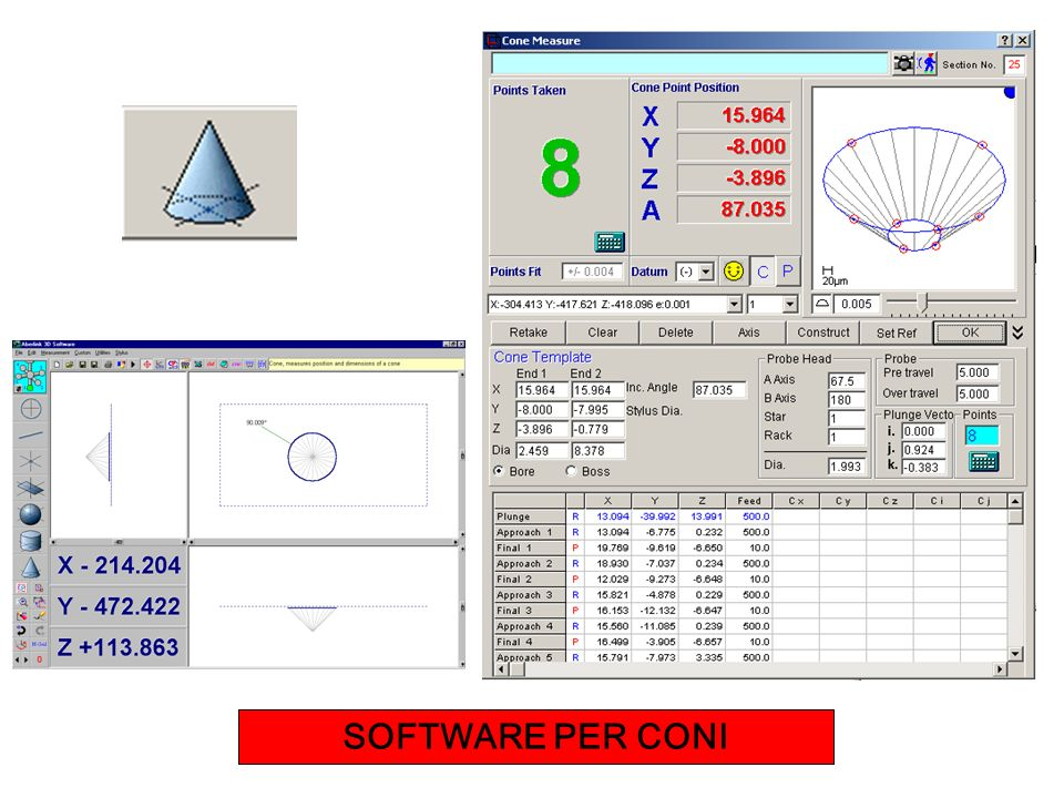 SOFTWARE PER CONI