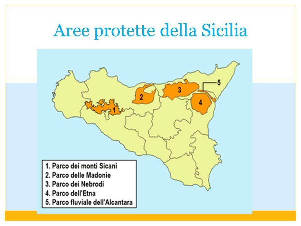 Aree protette della Sicilia