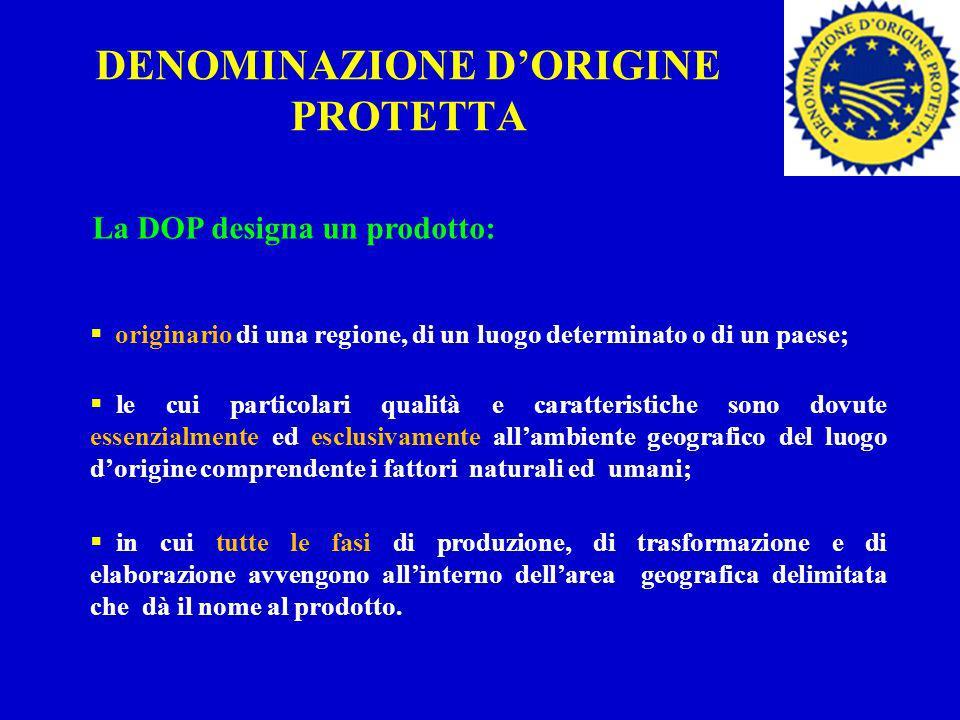 DENOMINAZIONE D'ORIGINE PROTETTA